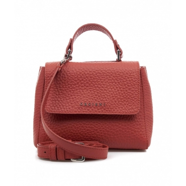 Mini borsa a mano Mini Sveva rosso