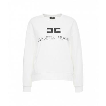 Sweater mit Logo avorio