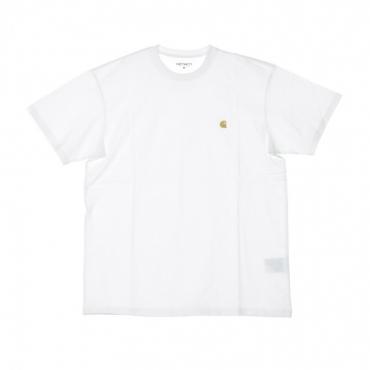 MAGLIETTA UOMO CHASE T-SHIRT WHITE/GOLD