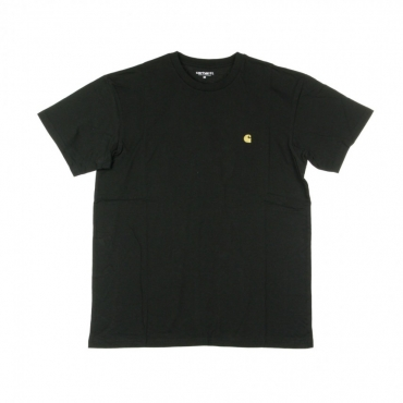 MAGLIETTA UOMO CHASE T-SHIRT BLACK/GOLD