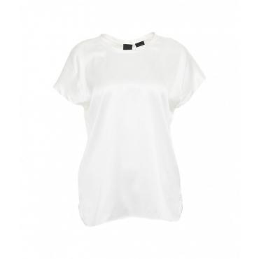 T-shirt di seta bianco