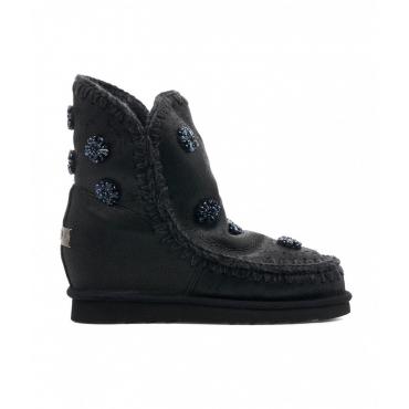 Boots Eskimo Inner Wedge Short nero