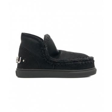 Stivali Eskimo Sneaker con strass nero