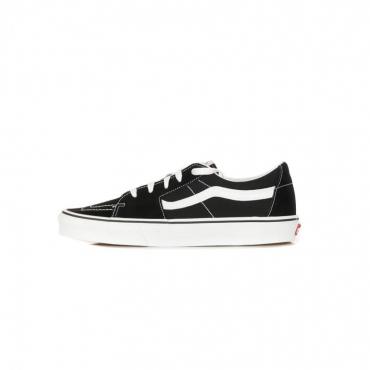 scarpa bassa uomo sk8-low BLACK/TRUE WHITE