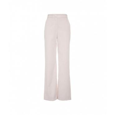 Pantaloni in velluto a coste fini beige