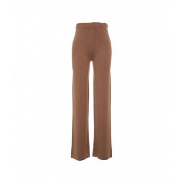 Pantalone in maglia Cammello