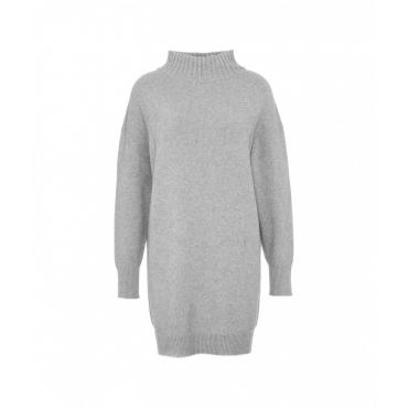 Maglione oversize grigio