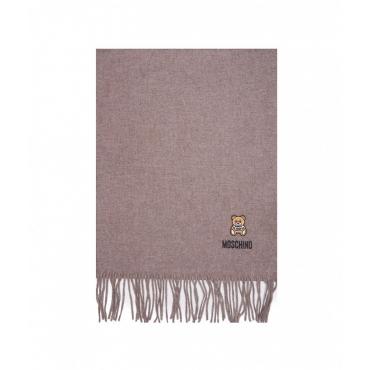 Sciarpa in lana merino beige