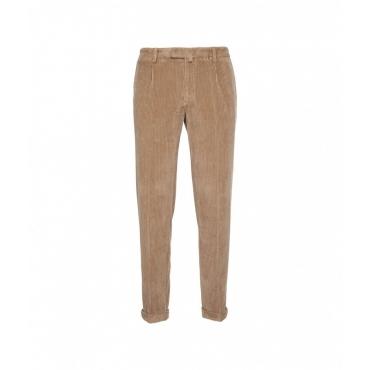 Pantaloni di velluto a coste Cammello