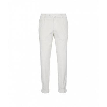 Pantaloni di velluto a coste beige