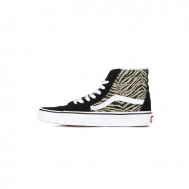 scarpa alta donna sk8-hi safari multi MULTI/TRUE WHITE
