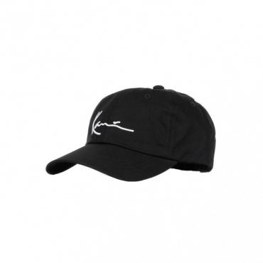 cappellino visiera curva uomo signature cap BLACK/WHITE