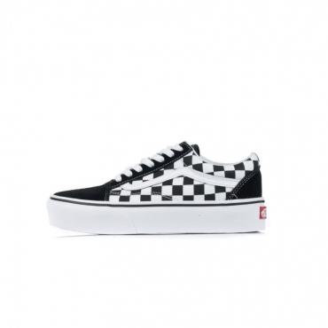scarpa bassa donna old skool platform checkerboard CHECKERBOARD/BLACK/TRUE WHITE