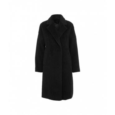Cappotto peluche nero
