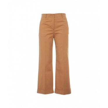 Pantalone casual marrone chiaro
