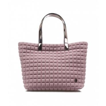 Medium Lami Cube Shopper rosa chiaro