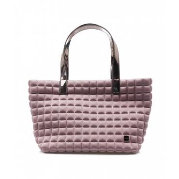 Small Lami Cube Shopper rosa chiaro