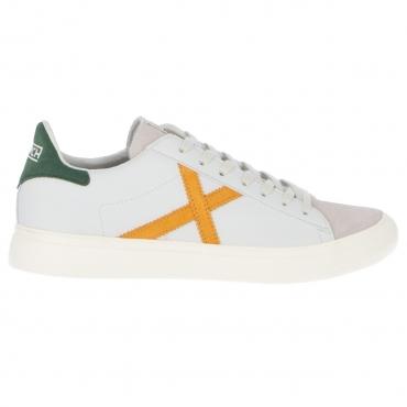 Scarpa Munich X Uomo Rete Sneaker 53 GRIGIO