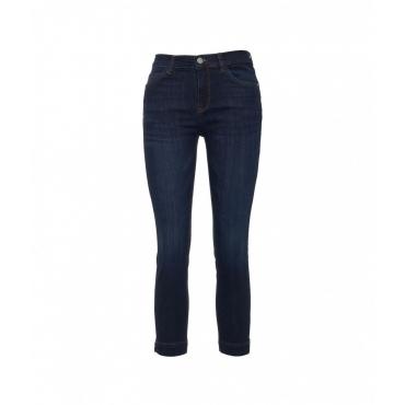 Slim Fit Jeans Steffy blu scuro