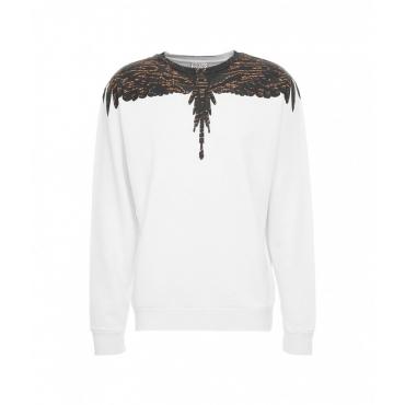 Camou Wings Regular Crewneck bianco