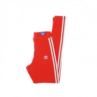 leggins donna 3 stripes tight RED
