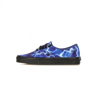scarpa bassa uomo authentic lightning BLACK/BLUE
