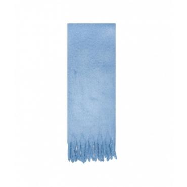Sciarpa in poliestere riciclato City Tour azzurro