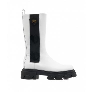 Boots Hearts bianco
