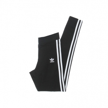 leggins donna 3 stripes tight BLACK