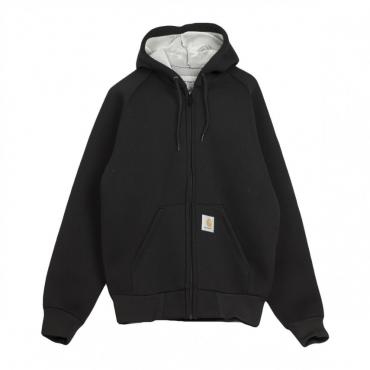 giubbotto uomo car-lux hooded jacket BLACK/GREY