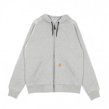 giubbotto uomo car-lux hooded jacket GREY HEATHER/GREY
