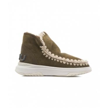 Boots Eskimo Jogger Glitter Logo oliva