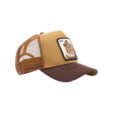 Baseball cap King beige