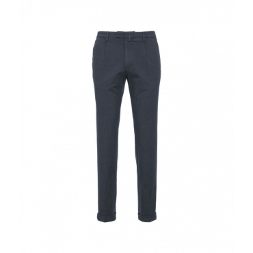 Pantalone chino blu scuro