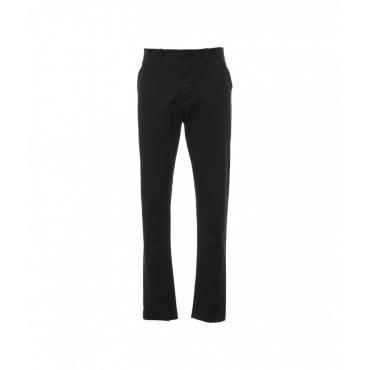 Pantaloni in cottone nero