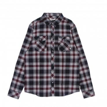 camicia manica lunga uomo rosomako 20 l/s shirt GREY/BLUE