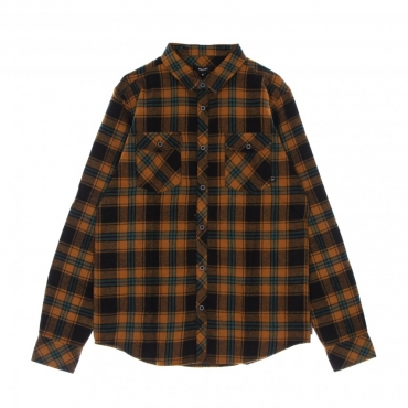 camicia manica lunga uomo rosomako 20 l/s shirt TOBACCO