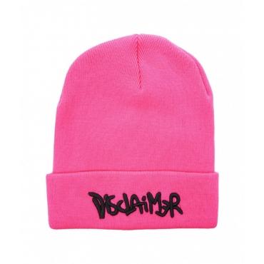 Beanie con logo pink