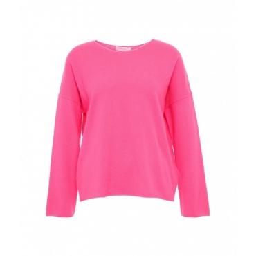 Maglione a maglia pink