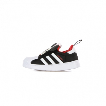 scarpa bassa bambino superstar 360 c x disney CORE BLACK/CLOUD WHITE/VIVID RED