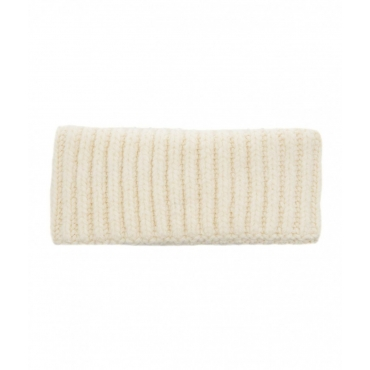 Fascia in maglia crema
