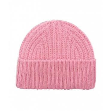 Berretto in maglia pink