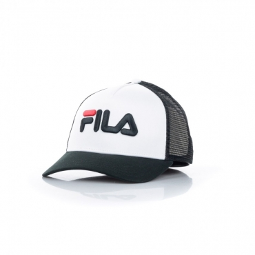 cappellino visiera curva uomo trucker cap BLACK/BRIGHT WHITE