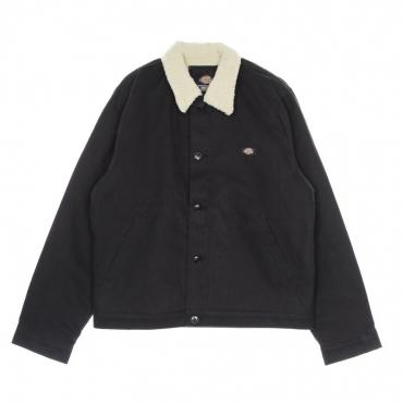 giubbotto uomo dc deck jacket BLACK