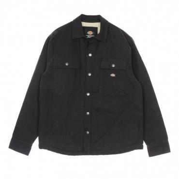 giacca workwear uomo dc shacket BLACK