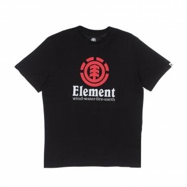 maglietta uomo vertical FLINT BLACK