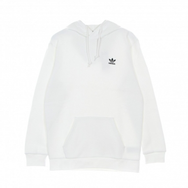 felpa cappuccio uomo essential hoodie WHITE
