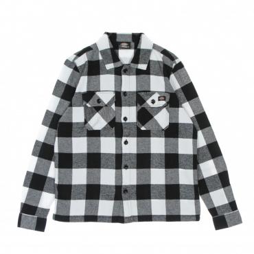 camicia manica lunga donna new sacramento l/s shirt BLACK