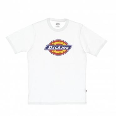 maglietta uomo icon logo tee WHITE