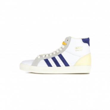 scarpa alta uomo basket profi VICTORY BLUE/CREAM WHITE